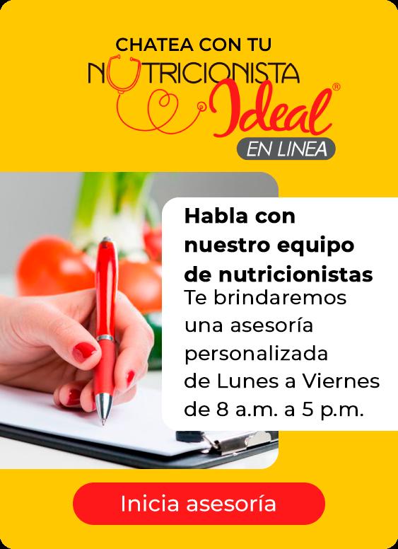 Chat Slider Nutricionista