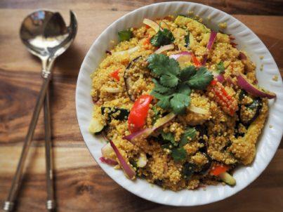 receta saludable quinoa aceite ideal