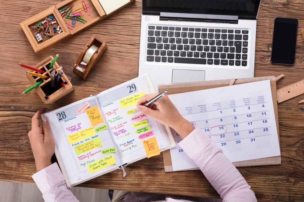 ¿Cómo organizarte para empezar el año?