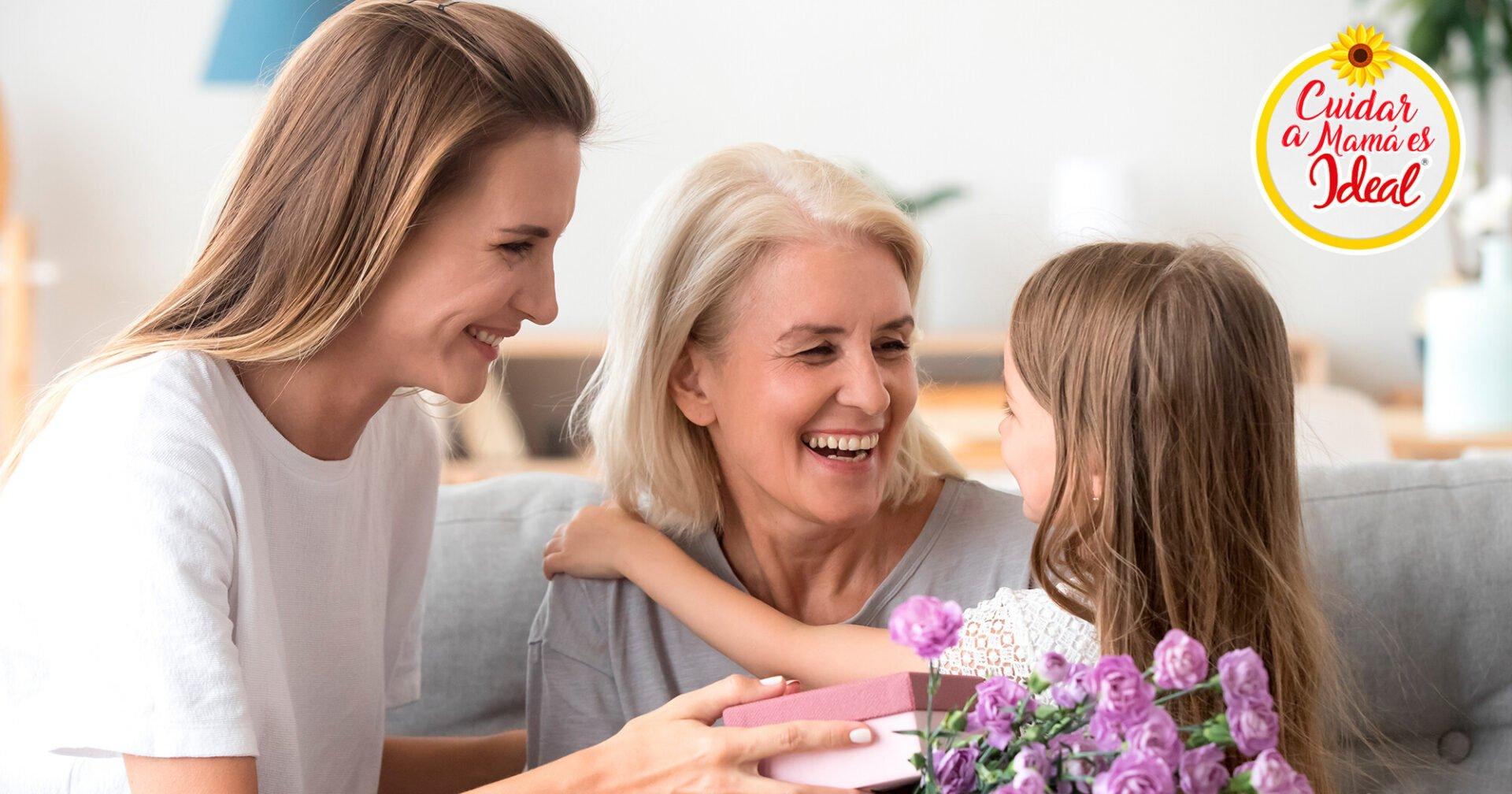 Consiente y cuida a mamá cada día del año